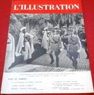 WW2 L'Illustration N°5150 Novembre 1941 Mort Du Général Huntziger,Gouffre D'Esparros,Amiral Platon Djibouti - Newspapers