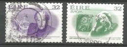 Irland / Eire 1996  Mi.Nr. 942 / 943 , EUROPA CEPT - Berühmte Frauen - Selbstklebend / Gestempelt / Fine Used / (o) - 1996
