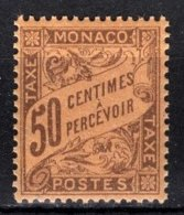 MONACO 1905 / 1919  / N° 7 -  Timbre Taxe NEUF** / 5 - Taxe