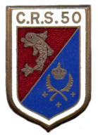 Broche Avec Son Cuir C.R.S.50, Implantée à La TALAUDIERE (42) - Army
