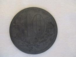Algérie: 25 Centimes Chambre De Commerce D'Oran 1917 - Monetary / Of Necessity