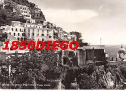 POSITANO - PIAZZA DEI MULINI F/GRANDE VIAGGIATA 1963 - Salerno
