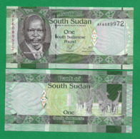 SOUTH SUDAN - 1 POUND - 2011 - UNC - South Sudan