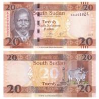 SOUTH SUDAN - 20 POUND - 2017 - UNC - Südsudan