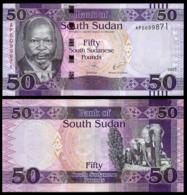 SOUTH SUDAN - 50 POUND - 2017 - UNC - Südsudan
