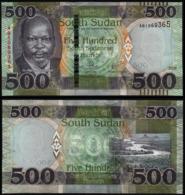 SOUTH SUDAN - 500 POUND - 2018 - UNC - Südsudan