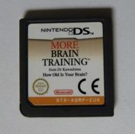 JEU NINTENDO DS - Programme D'entrainement CEREBRAL AVANCE Du DR KAWASHIMA BRAIN TRAINING Loose - Nintendo Game Boy
