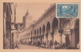Carte  Maximum   ALGERIE   Mosquée  EL KEBIR    ALGER  1954 - Tarjetas – Máxima