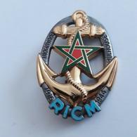 Broche Neuve Dans Son Emballage De L'insigne D RICM (Régiment Infanterie Et Chars De Marine).  Ref: Arthus Betrand G1933 - Marine