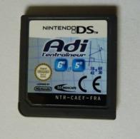 JEU NINTENDO DS - ADI L'ENTRAINEUR 6è Et 5è - Nintendo Game Boy