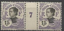 Indochine - N° 46 Millésime 1907 - Indochina (1889-1945)
