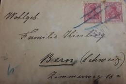 O) 1900 GERMANY. GERMANIA 10pf Carmin, TO BERN, XF - Germany