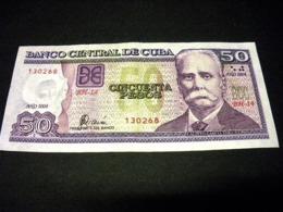 CUBA 50 Pesos 2008, Pick N°123 E , CUBA - Cuba