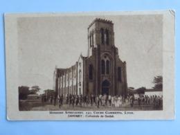 C. P. A. : BENIN, Dahomey : Cathédrale De OUIDAH, Missions Africaines Lyon - Benin