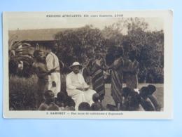 C. P. A. : BENIN, Dahomey : Une Leçon De Catéchisme à ZAGNANADO,  Missions Africaines Lyon - Benin