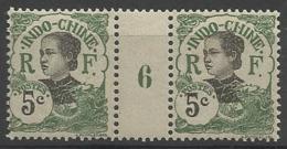 Indochine - N° 44 Millésime 1916 - Indochina (1889-1945)