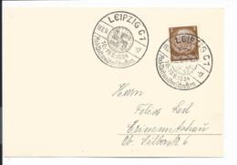 DR - Karte Mit Sonderstempel Leipzig Rad-Weltmeisterschaften 1934 - Germany
