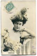 CPA - Carte Postale - Fantaisie - Femme - Chapeau - Robinson (I9935) - Mujeres