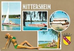 Mittersheim Carte à Vues Timbrée De 1975 - France