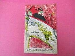 "Programme/Théatre ANTOINE/Simone Berriau/""L'IDIOTE""/ Marcel Achard/Jacques Duby/Christian Marin/1962  PROG241 - Programas"