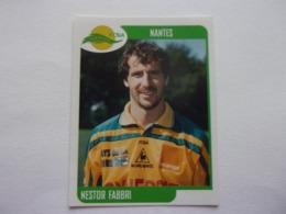 PANINI FOOT 2002 Championnat De France  N°265 Nantes FCNA Nestor Fabbri - Edition Française