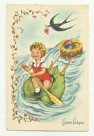 BUONA PASQUA 1954 VIAGGIATA FP - Pascua