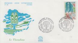 Enveloppe  FDC  1er  Jour  ANDORRE   ANDORRA   Thermalisme     1988 - Thermalisme