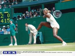 Serena Vs Venus Williams Wimbledon Ladies Final 2002 Rare Press Tennis Photo - Tennis