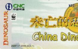 CHINA. DISNEY - DINOSAUR. ZGWTJT-2006-20(4-1). (176). - Rompecabezas