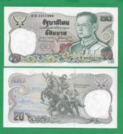 TAILANDA - 20 BAHT – 1980 - UNC - Tailandia