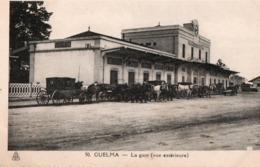 Algérie > Villes > Guelma La Gare Vue Exterieure - Guelma