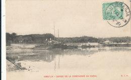 AN 785 /  C P A -  EGYPTE -  ISMAI LIA - DARSE DE LA COMPAGNIE DU CANAL - Ismailia