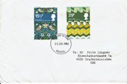 Großbritannien / United Kingdom - Mi-Nr 923 + 926 FDC (T357) - FDC