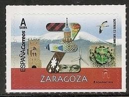 2019-ED. 5279 - 12 Meses, 12 Sellos. ZARAGOZA -NUEVO - 1931-Today: 2nd Rep - ... Juan Carlos I