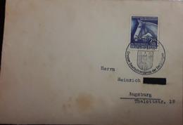 O) 1941 GERMANY, MARIA LAACH ABBEY CANCELLATION, RACE HORSE - COMMEMORATION BLU RIBON RACE HELD AT HAMBURG- SC B191 25 - Germany