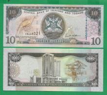 TRINIDAD TOBAGO  - 10 DOLLARS - 2006 - UNC - Trinidad En Tobago