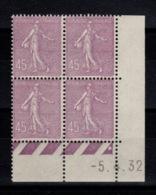 Coin Daté - YV 197 N** Semeuse Du 5.4.32 - ....-1929