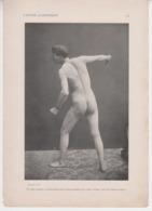 MZ / ETUDE ACADEMIQUE /  Nu Naturisme Art Erotisme Erotica Nude Woman,Man, Sexy Femme Nue Seins Nus, Recto Verso - Unclassified