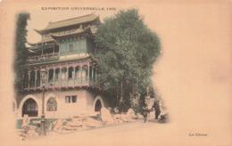75 Paris Exposition Universelle 1900 La Chine Cpa Carte Colorisée - Expositions