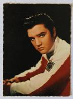 Chanteur Elvis Presley Jeune Carte Publicitaire 448 - Objets Dérivés