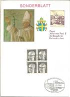 ALEMANIA GELSENKIRCHEN 1987 VISITA DEL PAPA JUAN PABLO II POPE - Papas