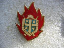 Pin's Des Sapeurs Pompiers De La Commune De NEUVE-EGLISE (Dépt 67) - Pompiers