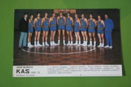 Old Spanish Postcard - KAS 1969-70, BASKETBALL - Basketbal