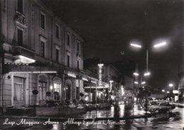 ARONA - LAGO MAGGIORE - NOVARA - ALBERGO EXCELSIOR NOTTURNO - INSEGNA PUBBLICITARIA BIRRA FORST - 1971 - Novara