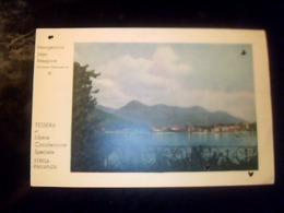 Ticket Transport Italie/ Suisse Carte De Circulation  Spéciale Sur Le Lac Majeur Stresa Isole Baveno Pallanza - Titres De Transport