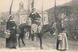 AN 811 /  C P A    TYPES DU CENTRE  NOS LAITIERES - Languedoc-Roussillon