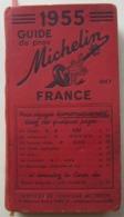 Guide Michelin Rouge, 1955 - Michelin-Führer