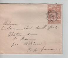 PR6973/ TP 72 Expo C.Gand (Station) 1897 > Château De St.Marc Par Vedrin C.d'arrivée - 1894-1896 Exhibitions