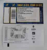 Handball Ticket Celje Pivovarna Lasko (Slovenia)  : Montpellier ( France) 6.12.2014  Champions League EHF - Match Tickets