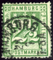 Hamburg. Michel #14.I. Used. - Hamburg